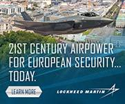 F35 - 21st century airpower for European Security...today.